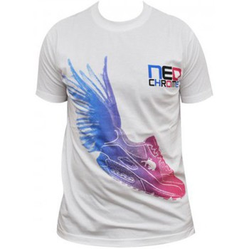 T-shirts manches courtes Neochrome Tshirt  Sneak blanc