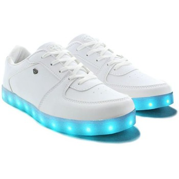 Chaussures Cash money baskets led cms37 lightlord blanc
