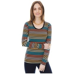 Vêtements Femme T-shirts manches longues Little Marcel T-shirt Line ML Multi 327 Multicolor
