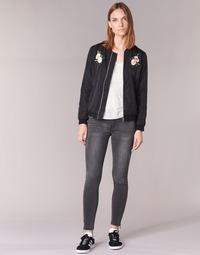 Vêtements Femme Jeans slim Yurban FABANE Gris