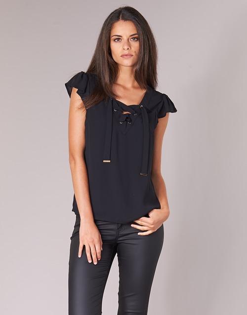 Vêtements Femme Tops / Blouses Moony Mood IFADOU Noir