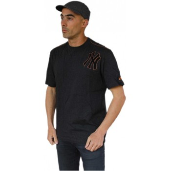 Vêtements Homme T-shirts manches courtes Majestic NY New York Yankees MLB Tee-shirt Superbe finition ! Gris