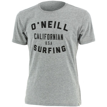 Vêtements Homme T-shirts manches courtes O'neill Signage Tee-shirt Gris