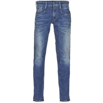 Vêtements Homme Jeans slim Replay ANBASS Bleu medium