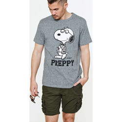 Vêtements Homme T-shirts manches courtes Tsptr Tee Shirt  Preppy Grey Marl Gris Chine Homme Gris