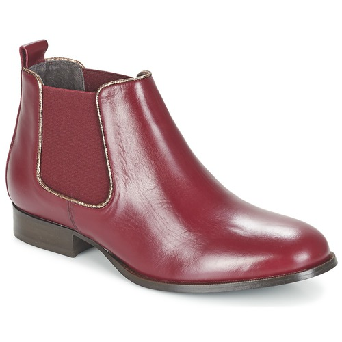 Chaussures Femme Boots Betty London FOLOIE Bordeaux
