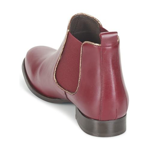 London Femme Betty Boots Bordeaux Foloie XZukPi