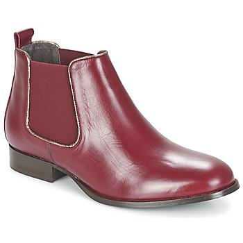 Bottines / Boots Betty London FOLOIE Bordeaux 350x350