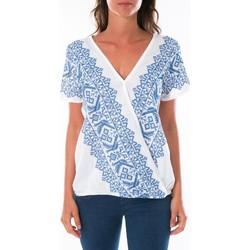 Vêtements Femme Tops / Blouses Jad Top Milan Blanc Blanc