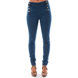 Vêtements Femme Jeans slim Dress Code Jean Demin Avenue  15HP006-2 Bleu