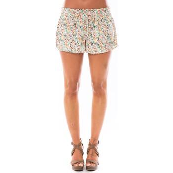 Vêtements Femme Shorts / Bermudas Little Marcel Short Simeon Blanc Imprimé Blanc