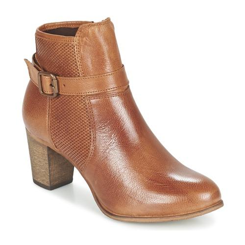 Chaussures Femme Bottines Betty London FAZELLE Camel