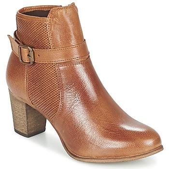 Bottines / Boots Betty London FAZELLE Camel 350x350