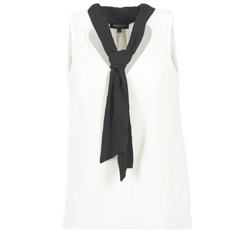 Blouses Morgan OREA Blanc / Noir 350x350