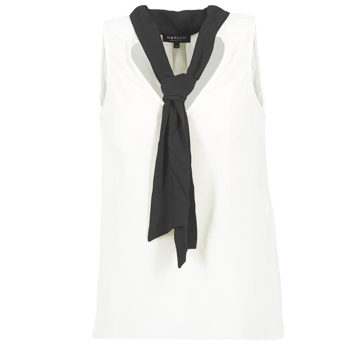 Blouses Morgan OREA Blanc / Noir