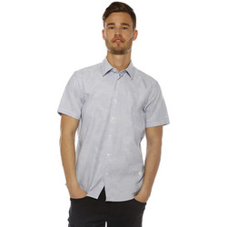 Chemises manches courtes G-Star Raw Chemise Homme - CORE SHIRT S/S - AIRCRAFT/MILK AO