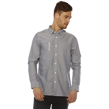 Chemise G-Star raw chemise homme - powell 3d shirt l/s - swedish blue