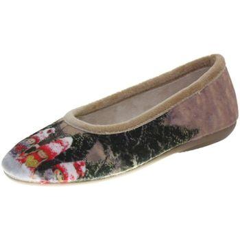 Chaussures Femme Chaussons La Maison De L'espadrille n490 multicolore