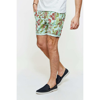 Vêtements Homme Shorts / Bermudas Meltin'pot Short Chino Prudens Imprime Multicolore Multicolor