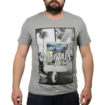 Vêtements Homme T-shirts manches courtes Jack & Jones Skater T-shirt