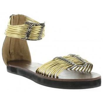 Chaussures Femme Sandales et Nu-pieds Elizabeth Stuart Nu pieds cuir Doré