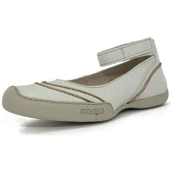 Chaussures Femme Ballerines / babies Pratik 93012 blanc