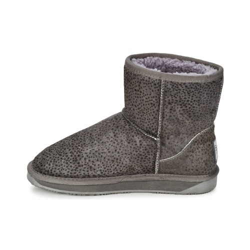 Gris Boots Minnie Chaussures Booroo Leo Femme DHW29EI