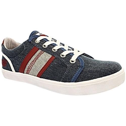Chaussures Garçon Baskets basses Kaporal 439872 bleu