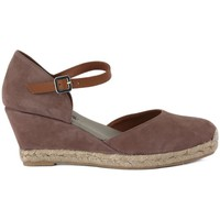 Chaussures Femme Sandales et Nu-pieds Frau CAMOSCIO TAUPE     65,6