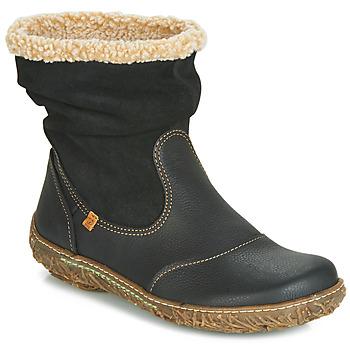 Bottines / Boots El Naturalista NIDO Noir 350x350