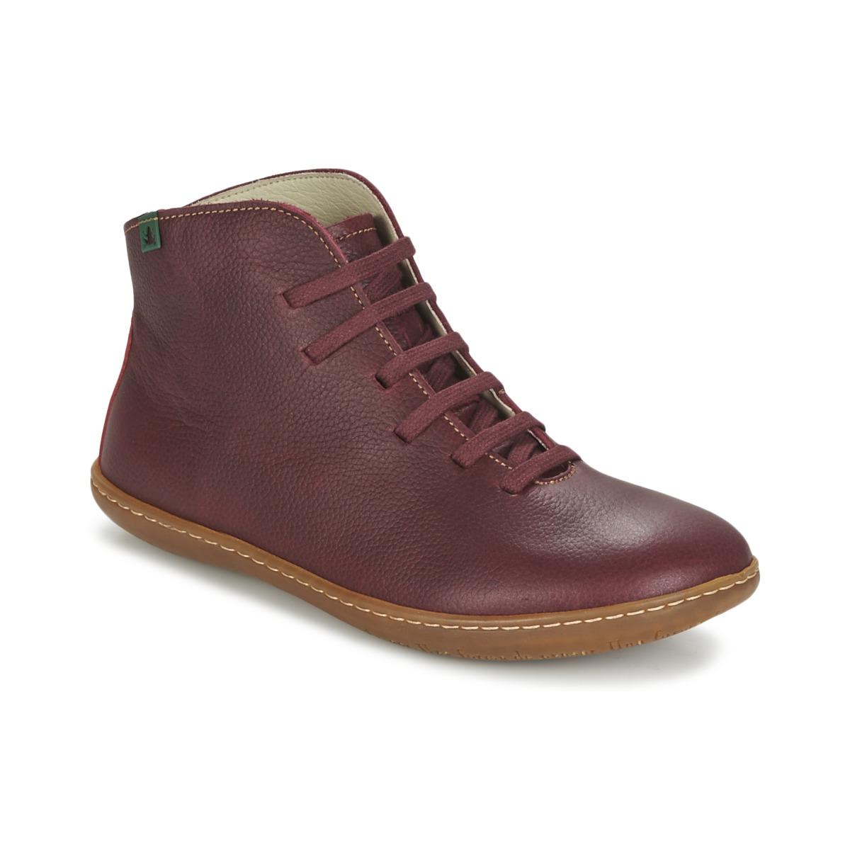 63379276cf211 El Naturalista EL VIAJERO Bordeaux - Livraison Gratuite avec Spartoo.com !  - Chaussures Boot Femme 75,00 €