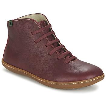 Bottines / Boots El Naturalista EL VIAJERO Bordeaux 350x350