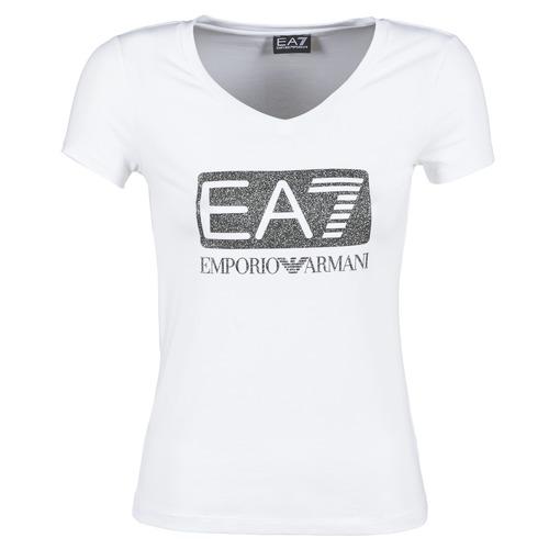 T-shirts & Polos Emporio Armani EA7 FOUNAROLA Blanc 350x350