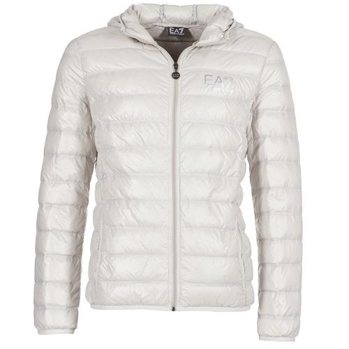Manteaux Emporio Armani EA7 ANDOURALO Blanc 350x350