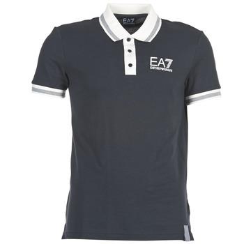 Vêtements Homme Polos manches courtes Emporio Armani EA7 OKOLAMI Marine
