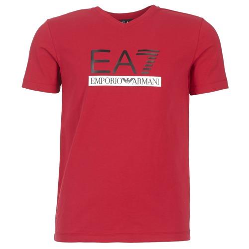 T-shirts & Polos Emporio Armani EA7 MOFRAGO Rouge 350x350