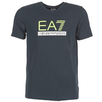 Vêtements Homme T-shirts manches courtes Emporio Armani EA7 JANTLOA Marine