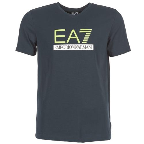 T-shirts & Polos Emporio Armani EA7 JANTLOA Marine 350x350