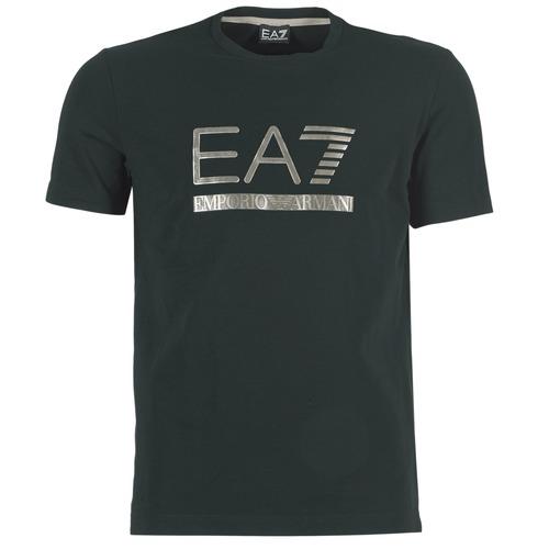 T-shirts & Polos Emporio Armani EA7 MAGGAROL Noir 350x350