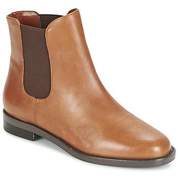 Chaussures Femme Boots Ralph Lauren BELVA Cognac