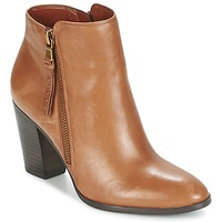 Chaussures Femme Low boots Ralph Lauren FAHARI Cognac
