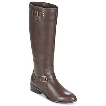 Chaussures Femme Bottes ville Ralph Lauren MARRONA Marron