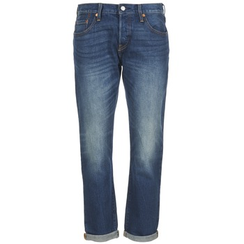 Vêtements Femme Jeans boyfriend Levi's 501 CT Roasted Indigo