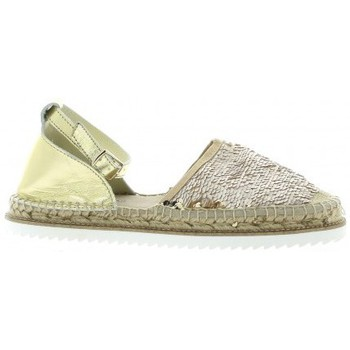 Chaussures Femme Espadrilles Elizabeth Stuart Espadrille toile paillette Beige