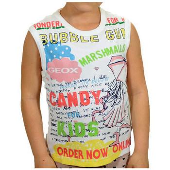 Vêtements Garçon Débardeurs / T-shirts sans manche Geox Canotta T-shirt