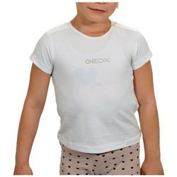 Vêtements Fille T-shirts manches courtes Geox T-shirt T-shirt