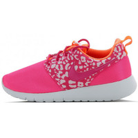 Chaussures Fille Baskets basses Nike Roshe One Print Junior - Ref. 677784-603 Rose