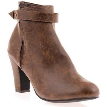 Chaussures Femme Bottines Dtk Bottine Marron