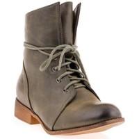 Chaussures Femme Boots Dtk Bottines vert