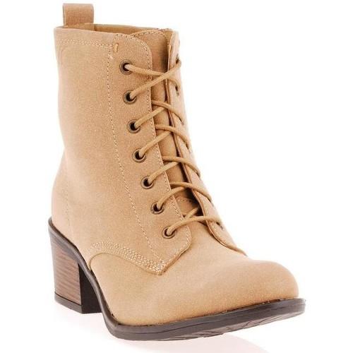 Chaussures Femme Bottines Dtk Bottine Beige
